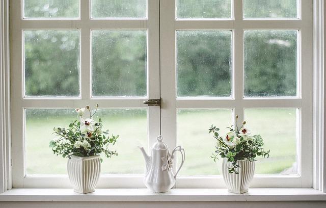 okna na umytí