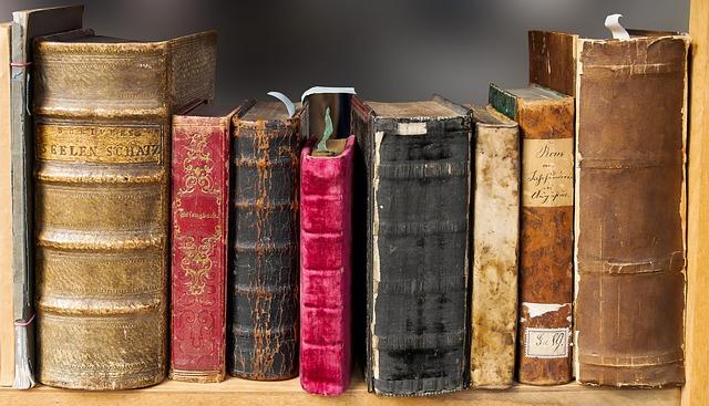 staré knížky