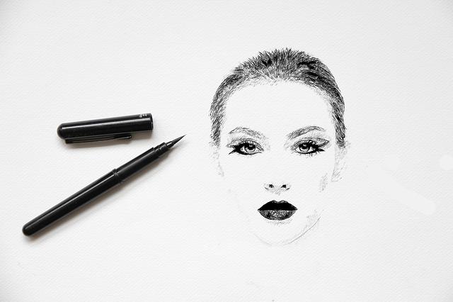 nakreslená tvář