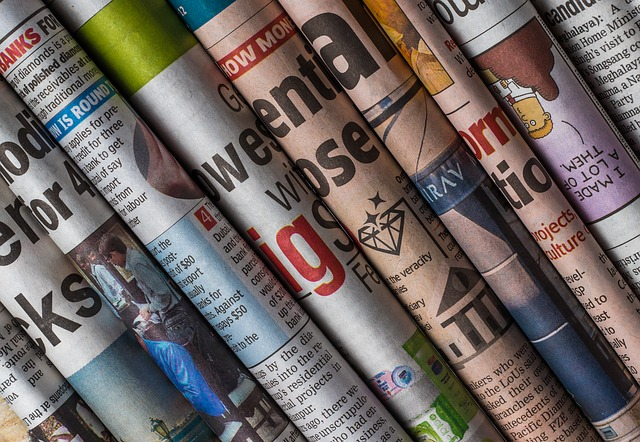 řada novin