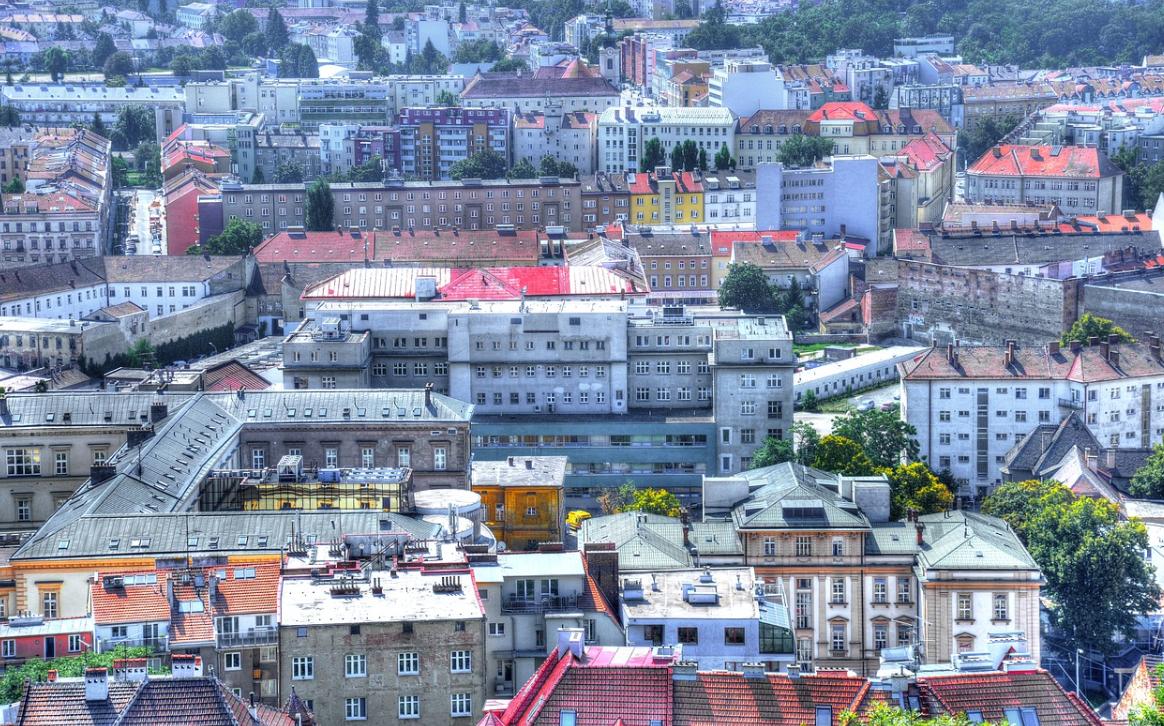 výhled na město